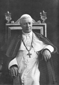 """To restore all things in Christ..."" - Pope St. Pius X"